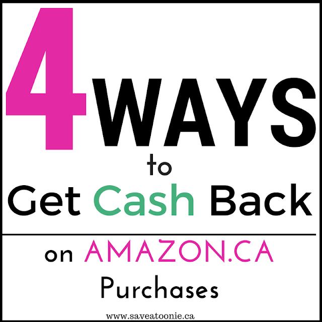 4 Ways to Get Cash Back Shopping on Amazon.ca
