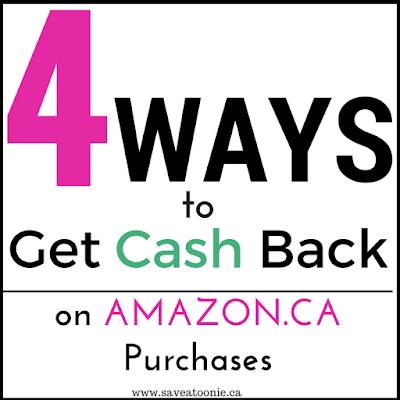 get cash back on amazon.ca