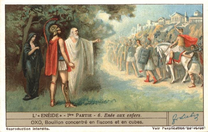 Aeneas the underworld