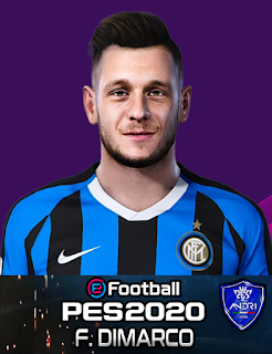 PES 2020 Faces Federico Dimarco by Sofyan Andri