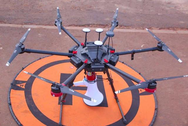 Polisi Rwanda Kerahkan Drone untuk Menangkap Pelanggar Lockdown, Seorang Pastor Ditahan!