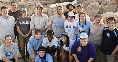 Huqoq, a equipe dos arqueólogos