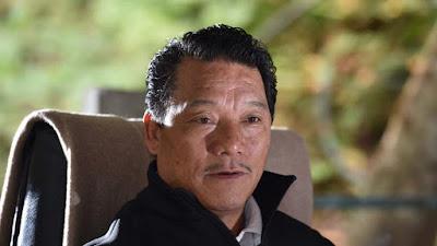 Bimal Gurung, supremo of Gorkha Janmukti Morcha