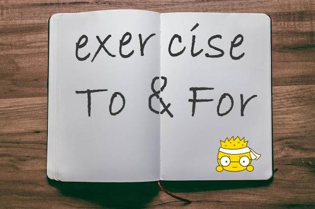 Soal Latihan To dan For Terlengkap