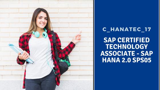 SAP HANA C_HANATEC_17, SAP HANA C_HANATEC_17 Certification