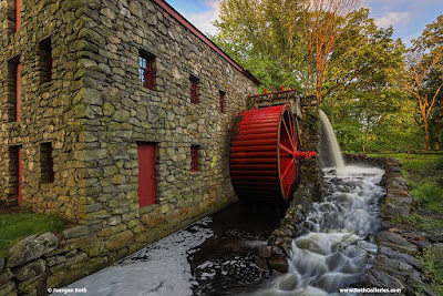 Fall foliage Sudbury Grist mill