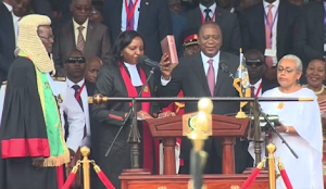 Kenyan President Sworn In For Second Term Amid Violent Clashes & Protests