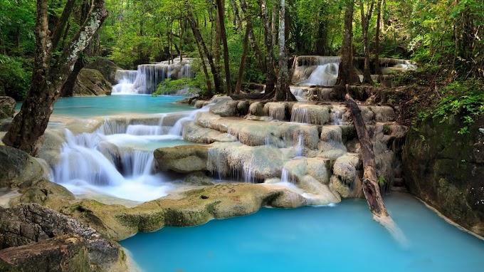 Linda Paisagem Natural Cachoeiras