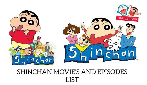 Crayon Shinchan Episodes And Movies List