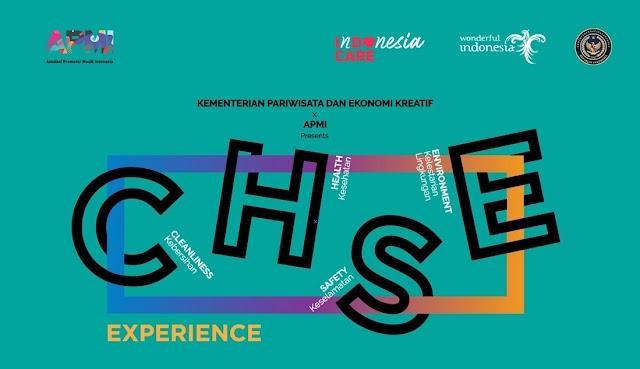Kemeterian Pariwisata dan Ekonomi Kreatif Bersama Asosiasi Promotor Musik Indonesia gelar C.H.S.E Experience