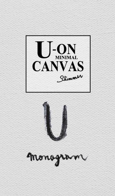 U on Canvas -Minimal-