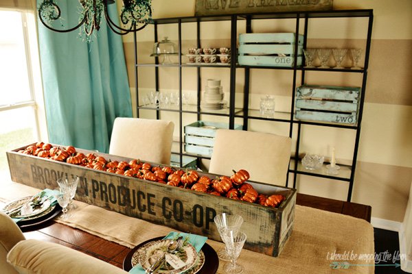 Thanksgiving Dining Room Decor