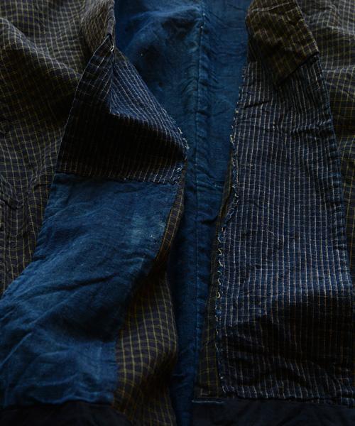 野良着 FUNS 藍染 襤褸 継ぎ接ぎ 30年代 アンティーク着物 ヴィンテージ