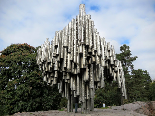 2 Days in Helsinki - Sibelius Monument