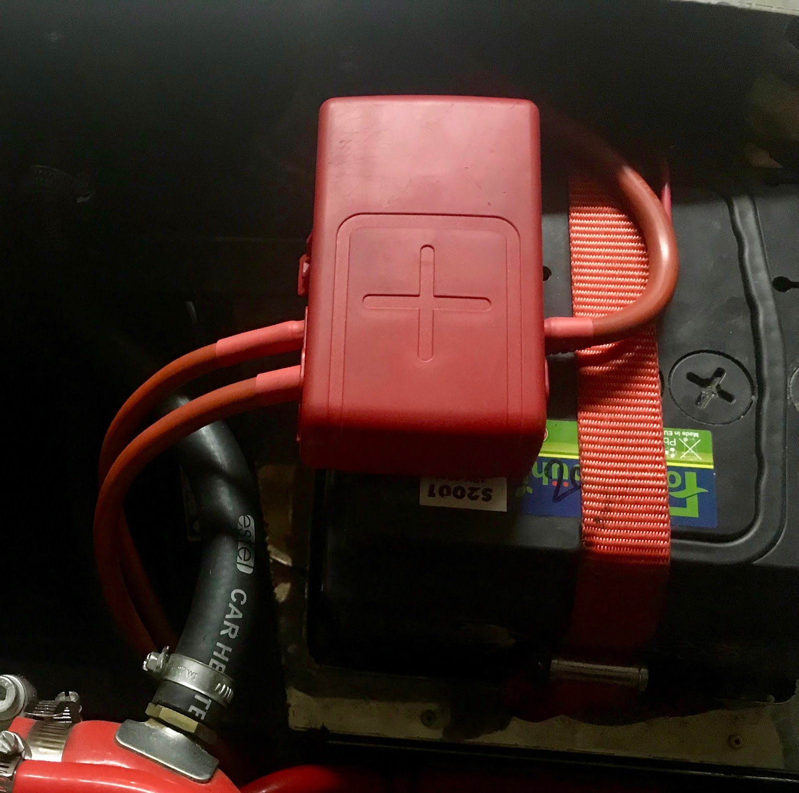 Richards Gbs Zero Power Distribution Changes Battery Fusebox Prep Car Fuse Box Test Update Engine Run Better Voltage Indicated On The Clocks So Thumbs Up For Wiring Change Significantly Shorter Runs And Fewer Joints Have