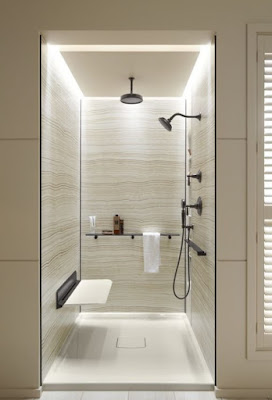 Bath or shower area Lighting Design Ideas