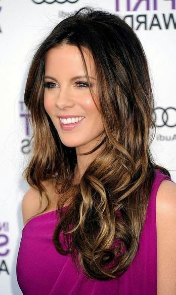 Kate Beckinsale's Ombre Highlights « VIP Hairstyles See more http://www.womensandmenshairstyle.net/