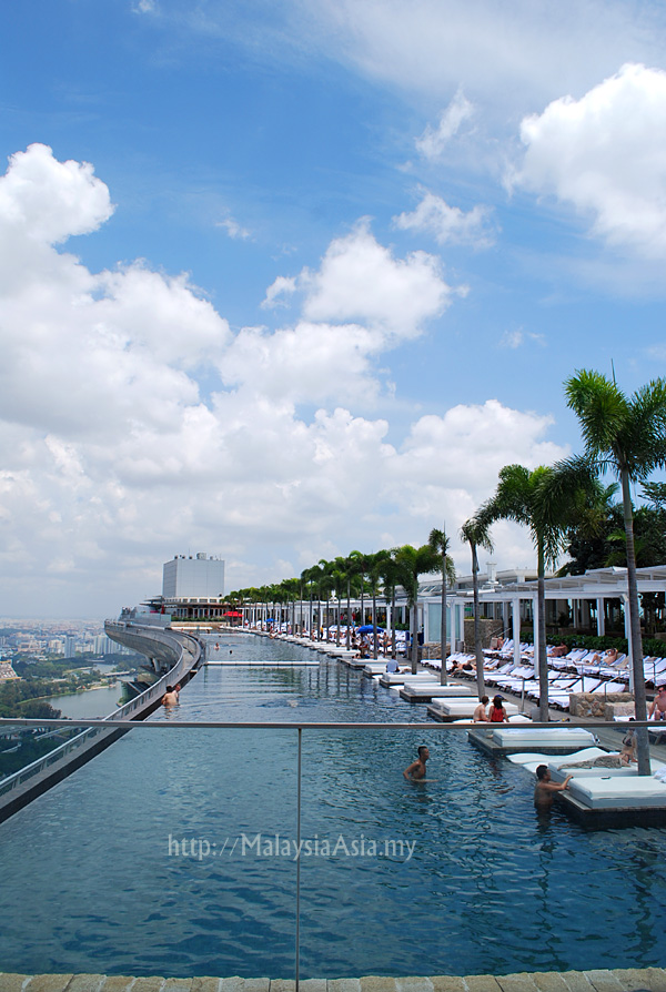 Infinity Swimming Pool Sands Skypark