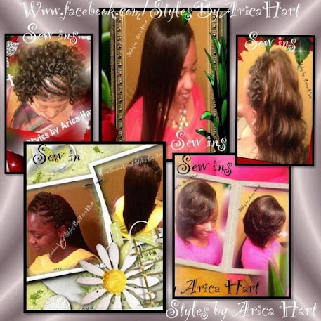 A variety of sewin hairstyle