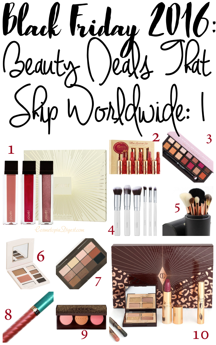 Cult Beauty's Black Friday special products, discounts, codes and offers that ship worldwide.