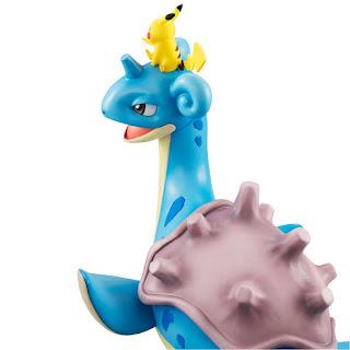 G.E.M. series Satoshi, Lapras y Pikachu de Pokémon - Megahouse
