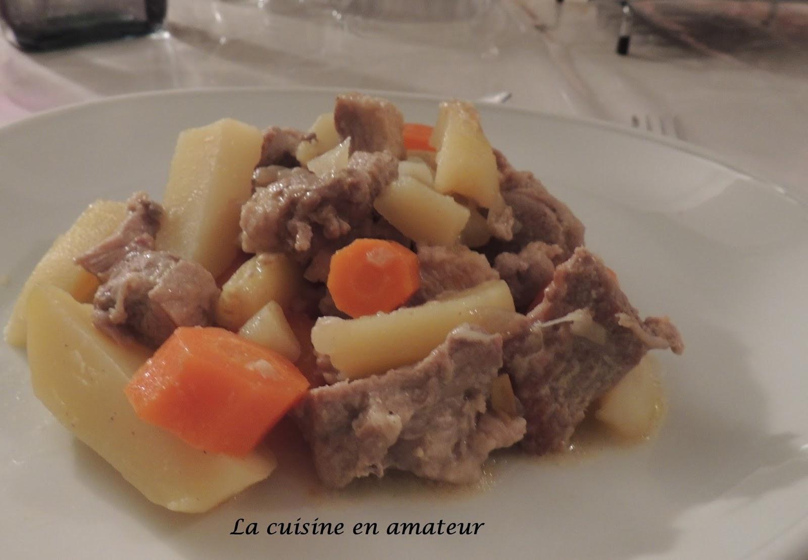 La cuisine en amateur de maryline saut de porc aux pommes de terre la moutarde au cook o - Saute de porc cocotte minute ...