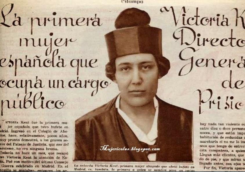 Mujerícolas Victoria Kent
