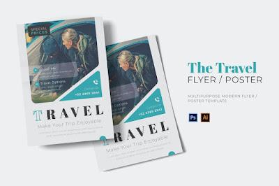 contoh brosur travel wisata