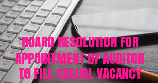 Board-Resolution-Appointment-Auditor-Fill-Casual-Vacancy
