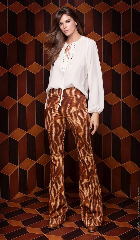 Moda invierno 2016 ropa de mujer Silvina Ledesma. Moda 2016.
