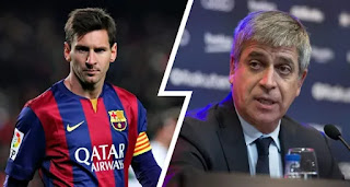 Ex-Barca director Mestre accuses Real Madrid of Leo Messi contract leak
