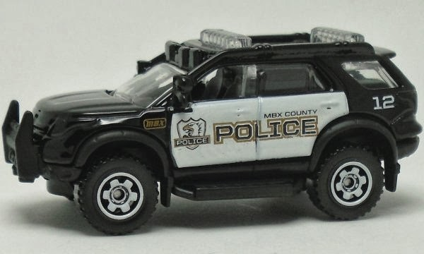 Amazon.com: Matchbox 2014 MBX Heroic Rescue Ford Police ...