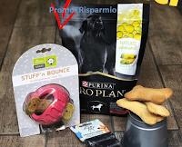 Logo Vinci gratis una Box con prodotti per il tuo cane del valore di 40€