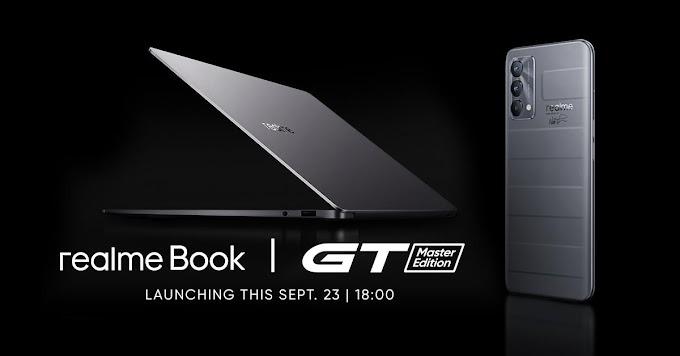 #DareToDisrupt: realme GT Master Edition, realme Book to launch in the PH on September 23