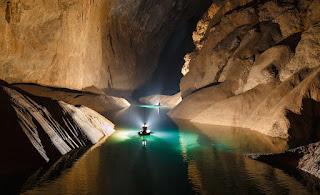 El interior de la cueva Hang Son Doong