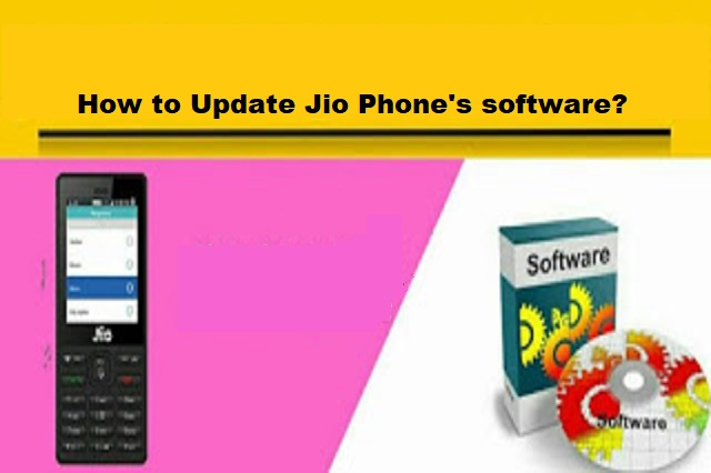 How to Update Jio Phone's software?