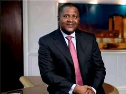 Dangote and his kinnupe Rice mill