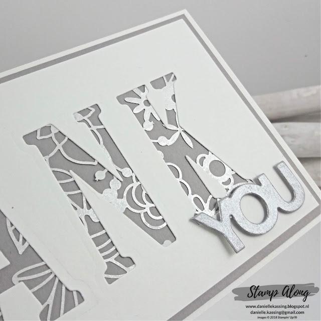 Stampin' Up! Large Letters Framelit Dies
