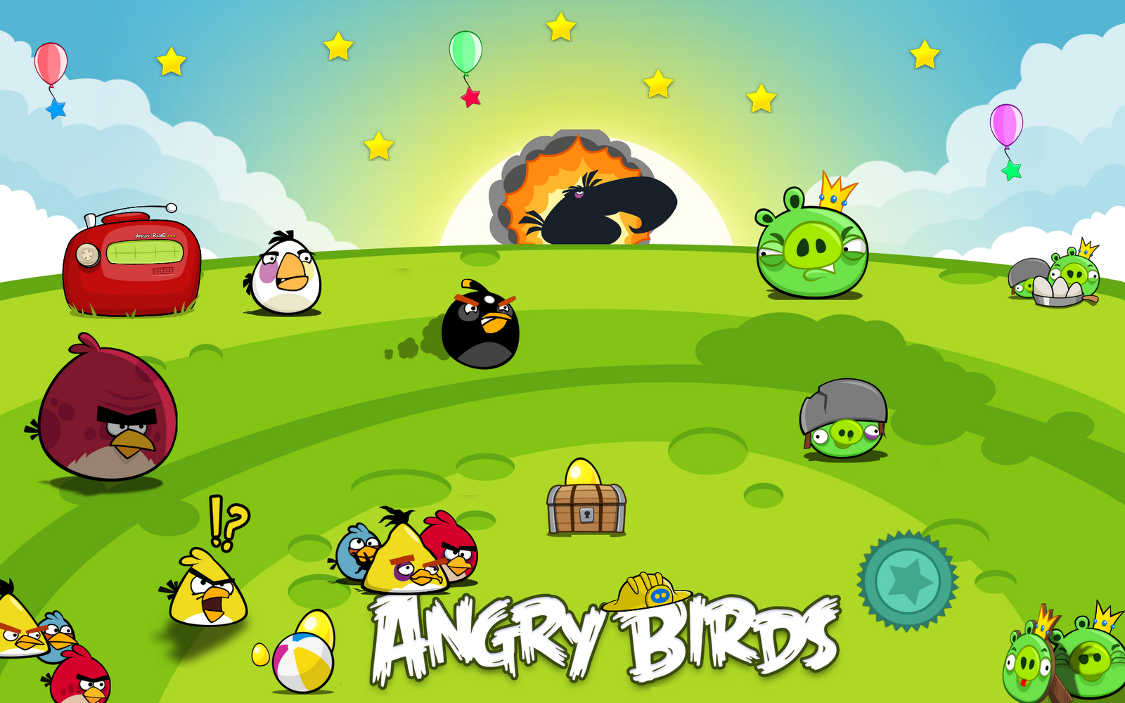 all about angry birds