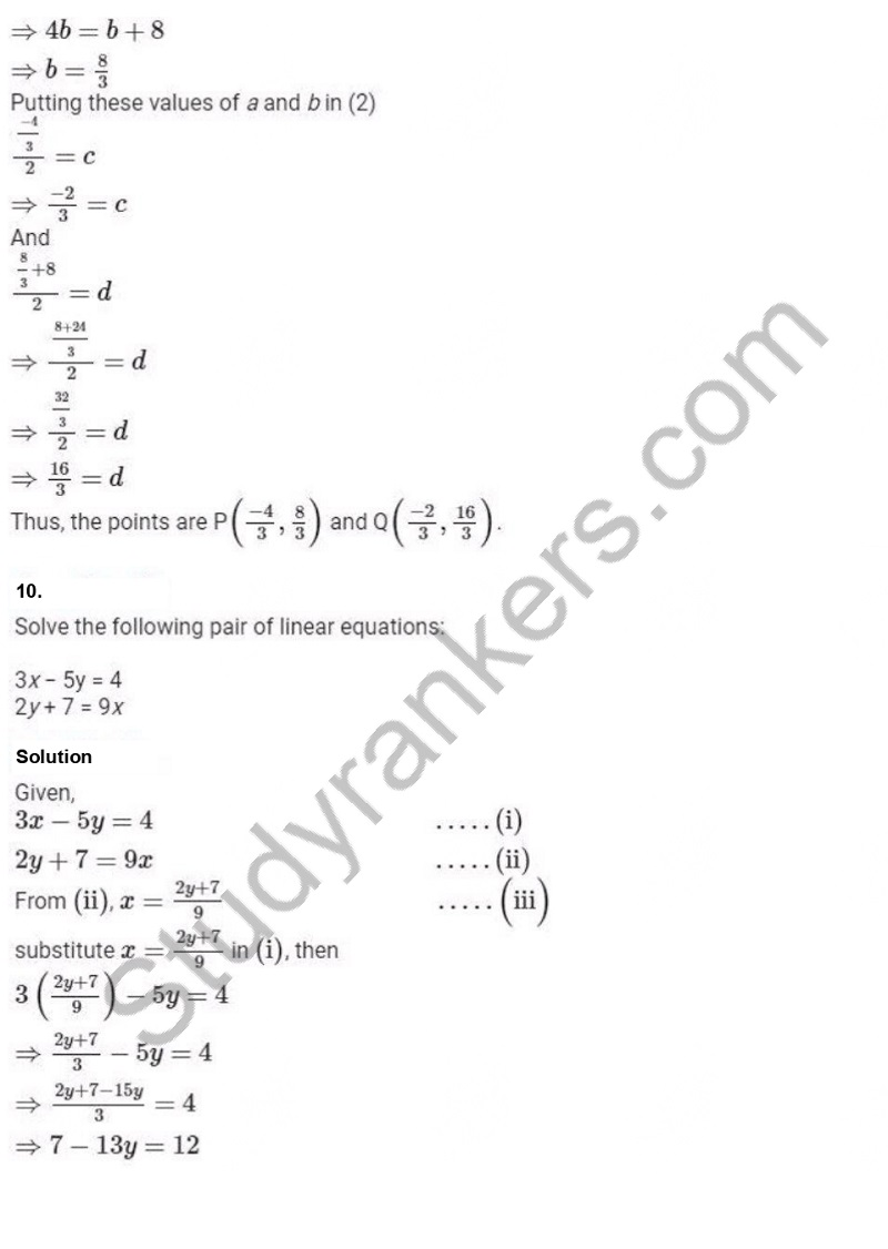 Previous Year Question Paper for CBSE Class 10 Maths 2019 Part 7