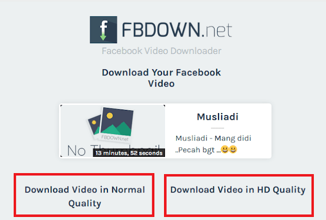 Cara Download Video di Facebook Lewat PC