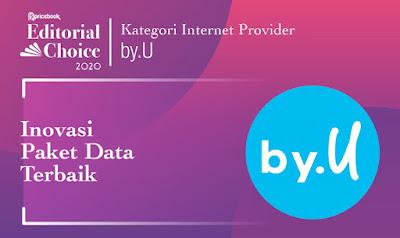 Inovasi Paket Data Terbaik by.U