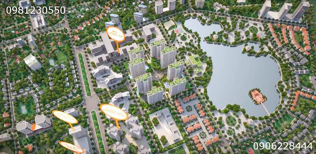 Phối cảnh chung cư An Bình City thành phố Giao Lưu