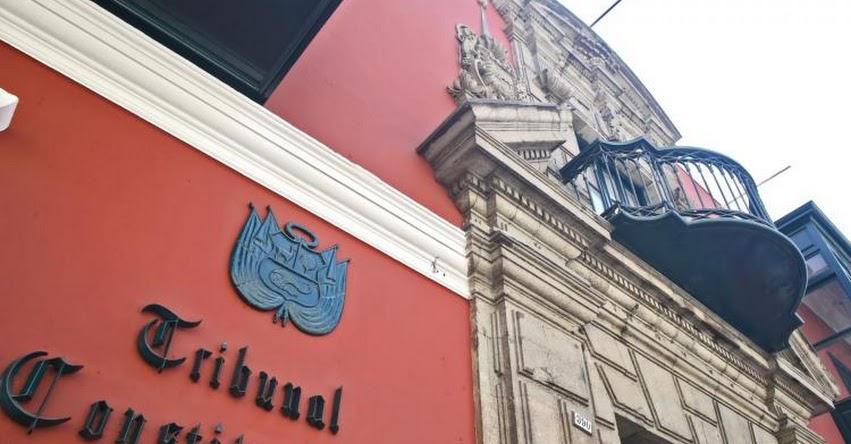 TC: Tribunal Constitucional sesionará este lunes 16 para evaluar demanda competencial sobre vacancia presidencial