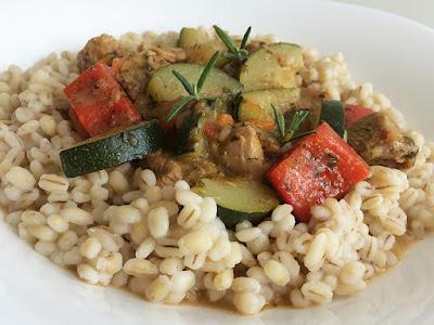 Gulasz z indyka i warzyw