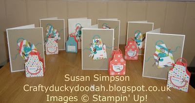 Craftyduckydoodah!, Stampin' Up! UK Independent  Demonstrator Susan Simpson, Apron of Love, Coffee & Cards project March 2018, Supplies available 24/7 from my online store,