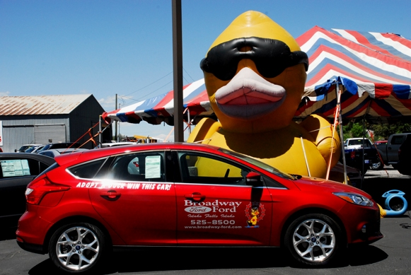 your broadway ford sales team 21st annual great snake river duck race. Black Bedroom Furniture Sets. Home Design Ideas