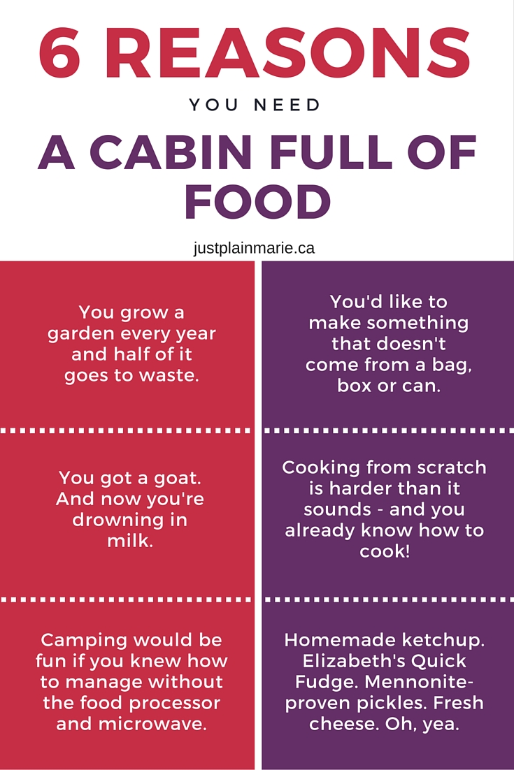 6 reasons you need to buy A Cabin Full of Food cookbook