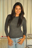 Actress Bhanu Tripathri Pos in Ripped Jeans at Iddari Madhya 18 Movie Pressmeet  0041.JPG