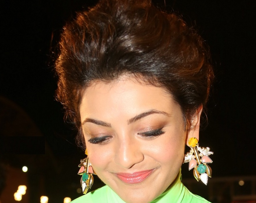 Kajal Aggarwal Top Face Close Up Photos Gallery